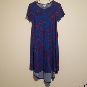 NWOT Lularoe XXS Carly Dress